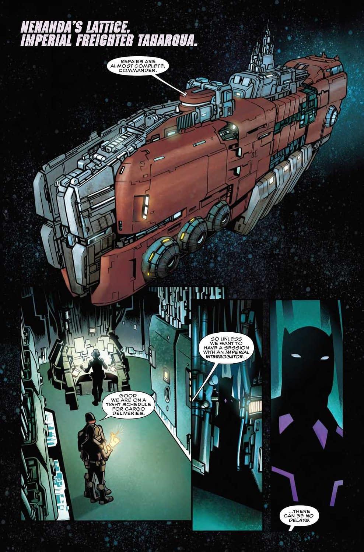 Human Trafficking…IN SPAAAACE!!! in Next Week's Black Panther #8