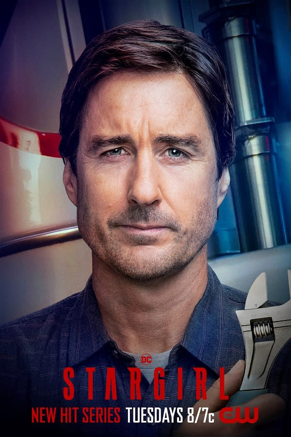 Luke Wilson as Pat Dugan on Stargirl, courtesy of The CW.
