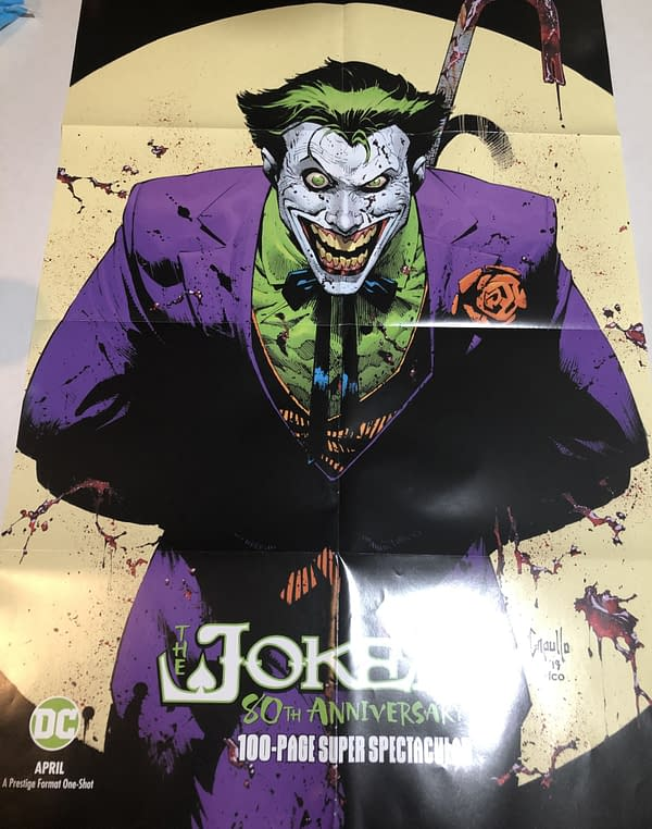 Joker 80th Anniversary Special #1 Main Cover Promotional Poster
