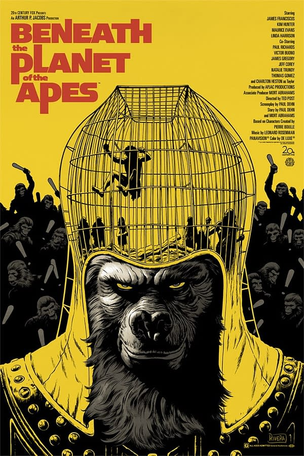 Mondo Beneath the Planet of the Apes Poster 1