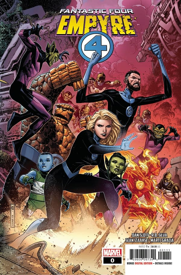 Empyre #0: Fantastic Four Main Cover