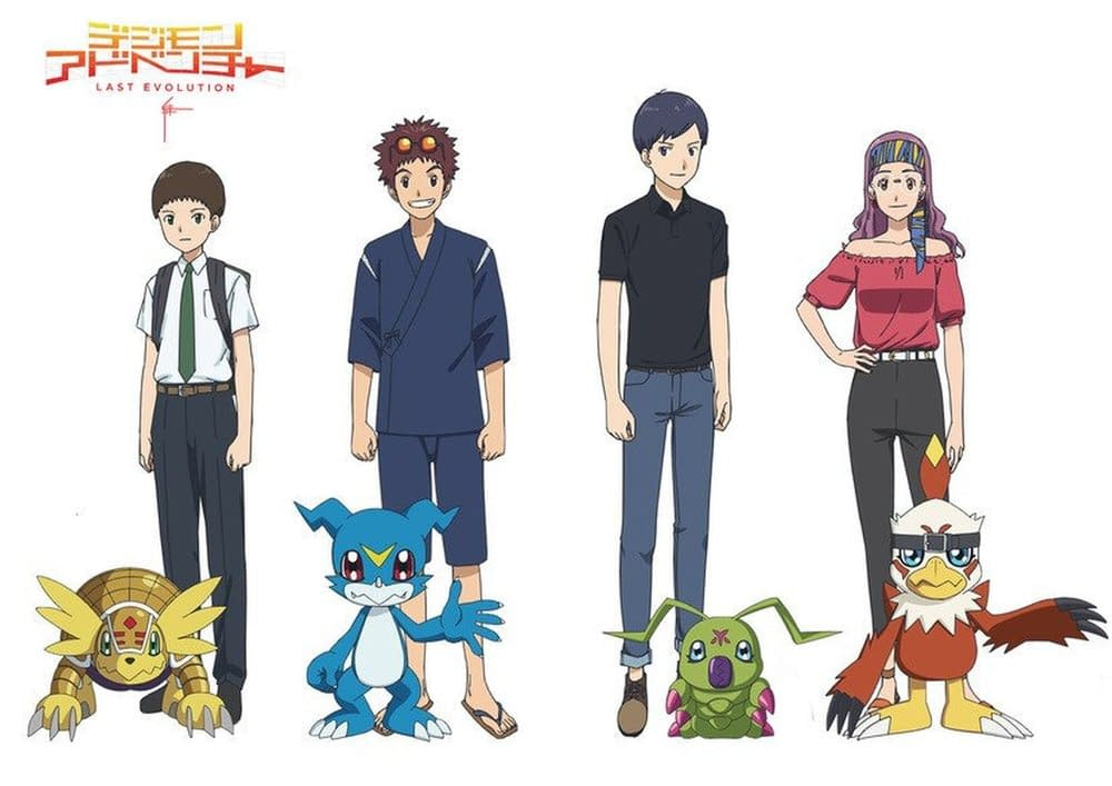 Digimon: Last Evolution Kizuna Footage Brings Back the Second Generation of DigiDestined