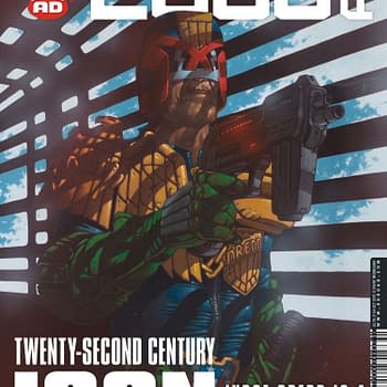2000 AD #2051 Review: Riots Gambling And Angry Gods