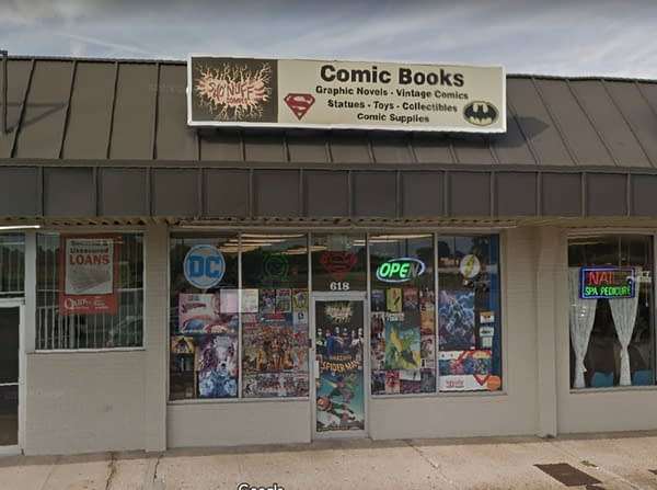 sho nuff comic book stores close