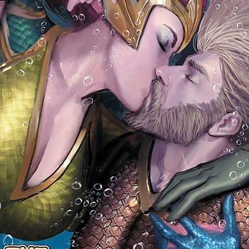 Aquaman #33 cover by Stjepan Sejic