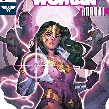 Wonder Woman Annual #2 cover by Yasmine Putri