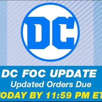 DC Comics Changes FOC Cut-Off to Sunday Night Sometimes Thursdays