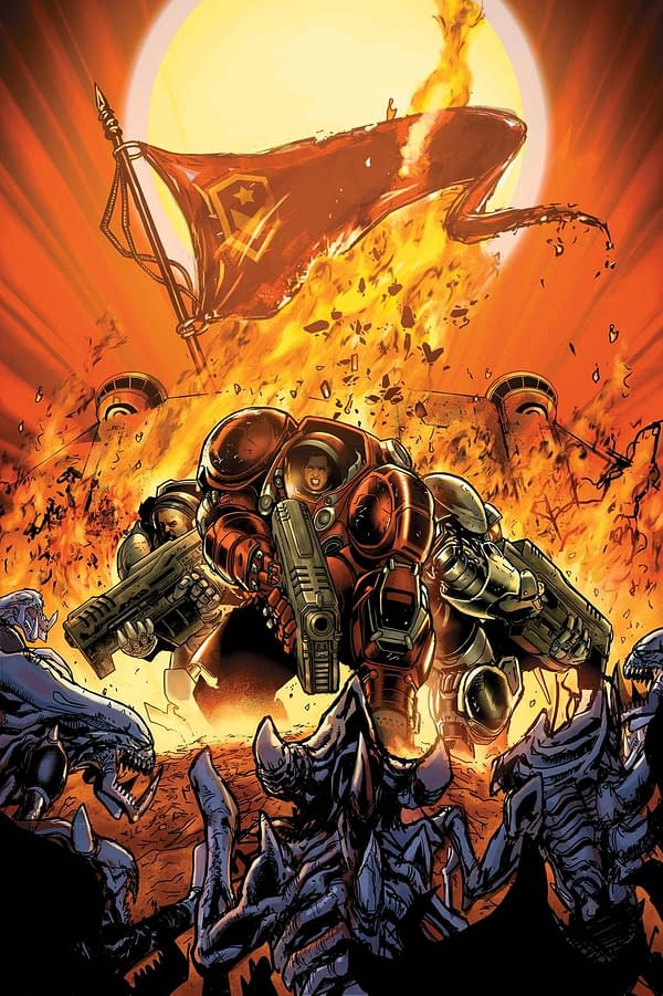 Dark Horse and Blizzard to Debut StarCraft: Soldiers at NYCC