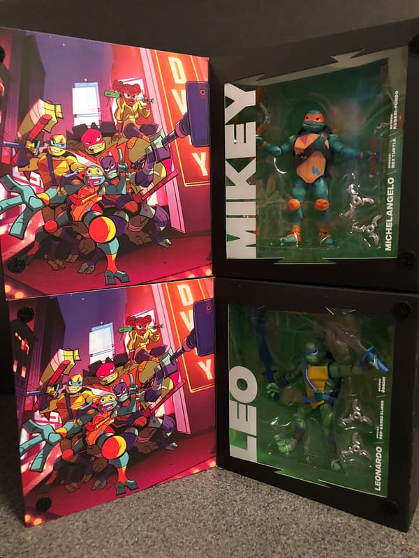 Rise of the TMNT Playmates Figures 3