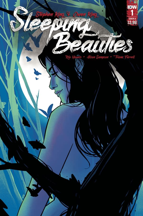 The cover of Sleeping Beauties published by IDW Publishing.