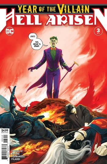 DC LATE: Punchline Second Prints, Birds of Prey, Batman vs Ra's Al Ghul, Doom Patrol, Inferior Five and Legion