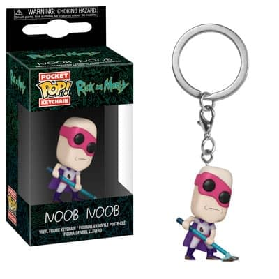 Funko Rick and Morty Keychain 1