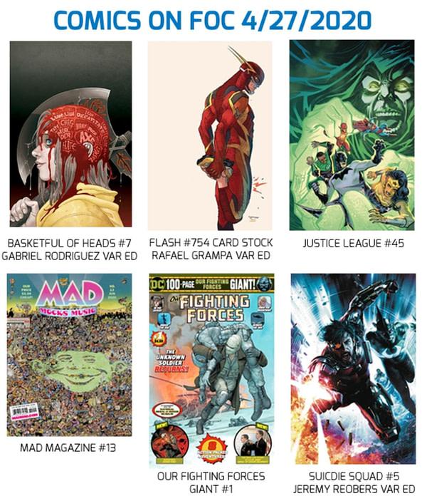 Merci FOC C'est lundi pour DC Comics, UCS, Lunar et Diamond.