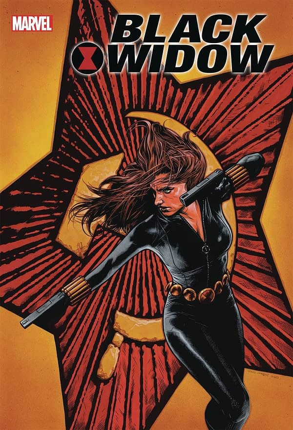 Travis Charest Variants of Black Widow #1 Hit Stores on May 27th.
