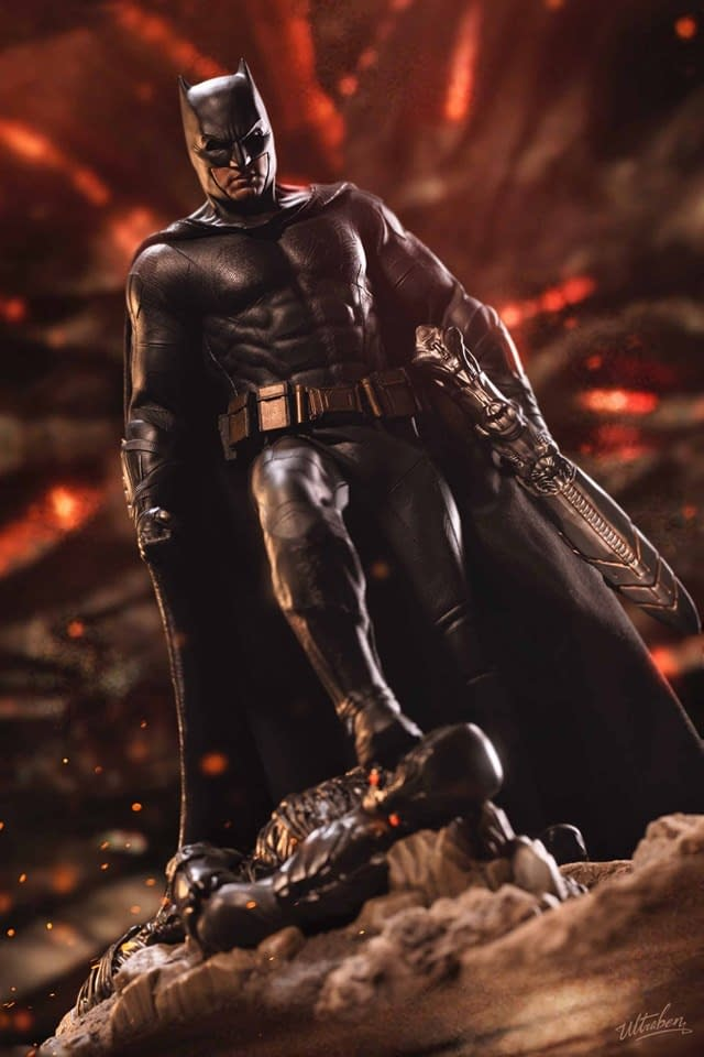 Hot Toys Shows Final Product for Justice League Batman