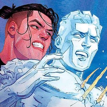 Iceman #9 Review: Daken Crashes Icemans Party