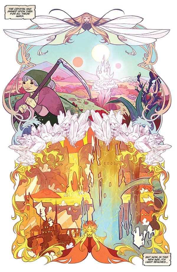 Jim Henson's Beneath the Dark Crystal #1 art by Alexandria Huntington
