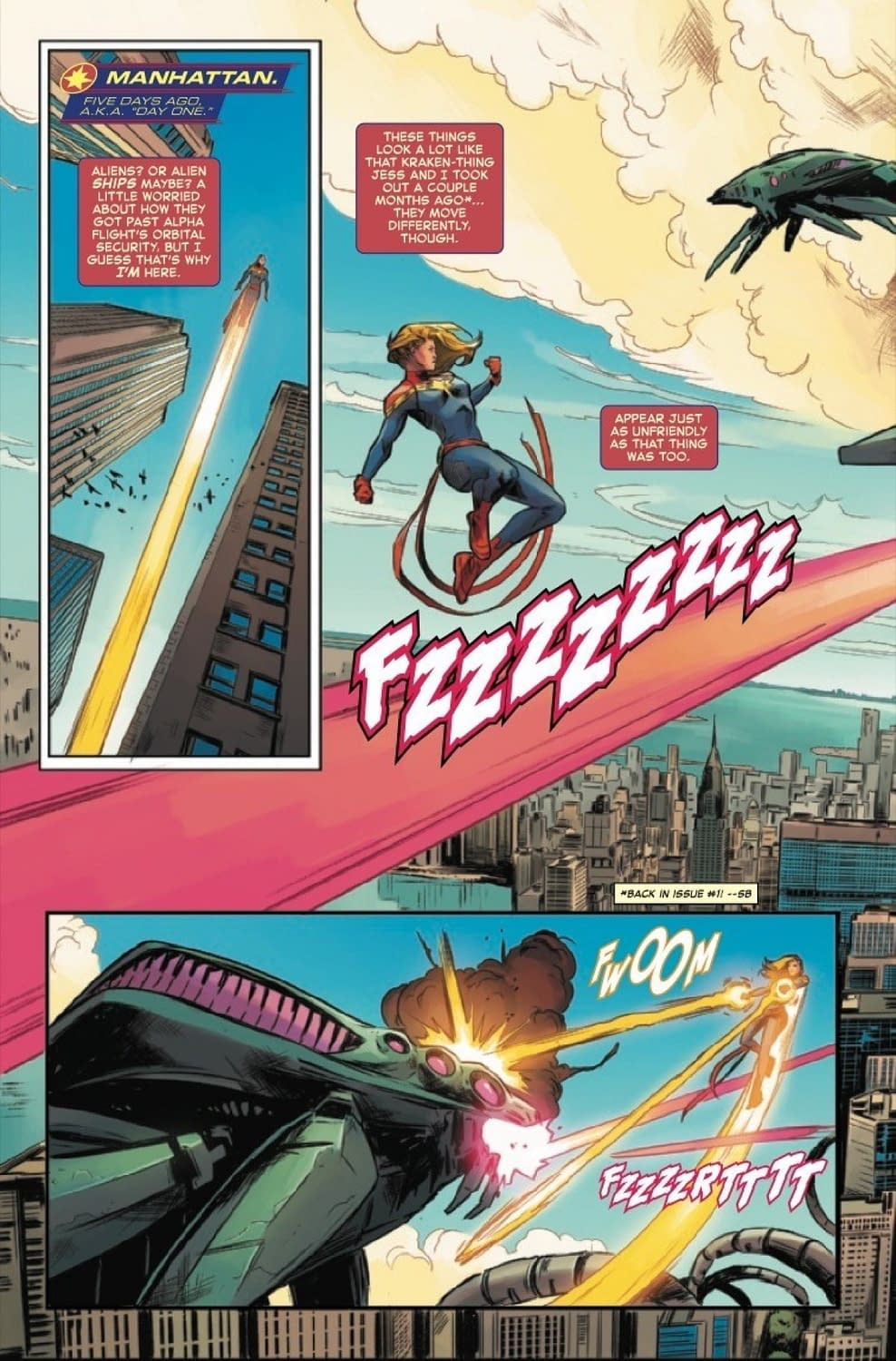 Captain Marvel #8: Demon in a Bottle? [Preview]