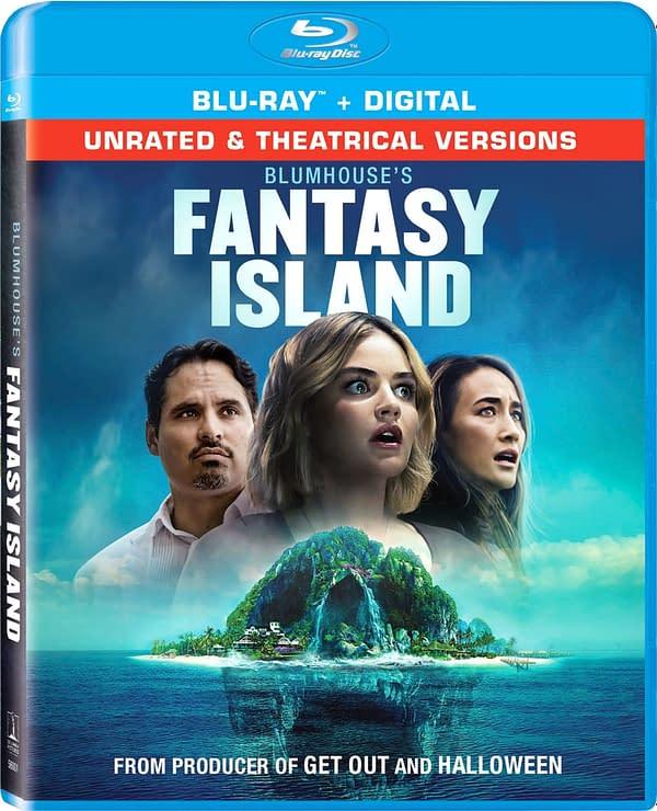 Couverture Blu-ray Fantasy Island de Blumhouse. Crédit Sony Pictures