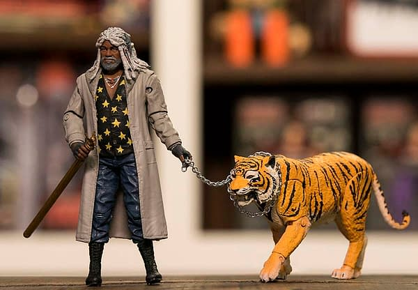 Walking Dead Ezekiel and Shiva Two Pack NYCC exclusive 2
