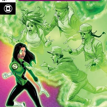 Green Lanterns #45 cover by Nelson Blake II and Hi-Fi