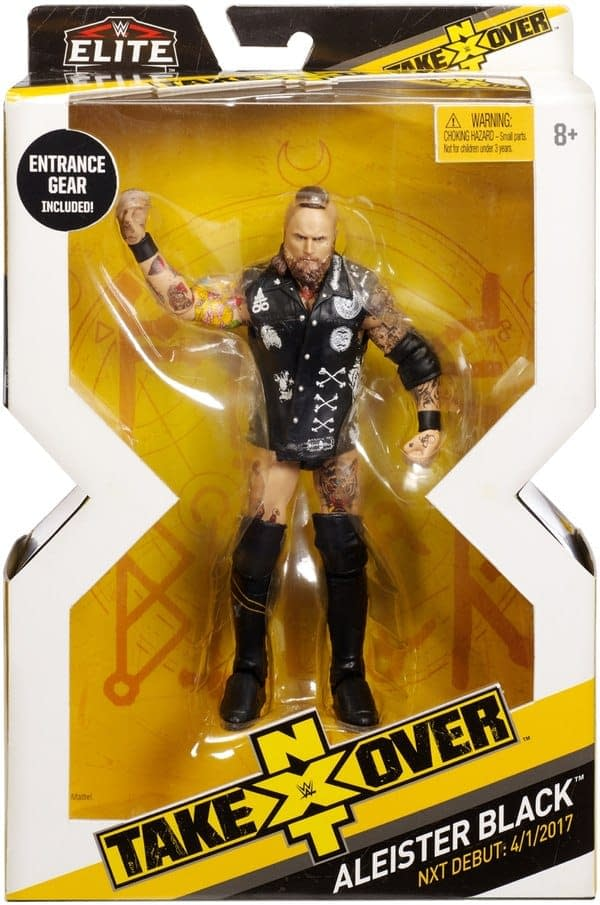 WWE NXT Aleister Black Figure 2