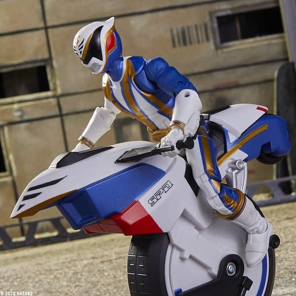 Power Rangers SPD Omega Ranger Gets Amazon Hasbro Exclusive