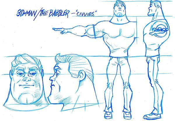 3D_Man_Sketch_ by Frantz Kantor