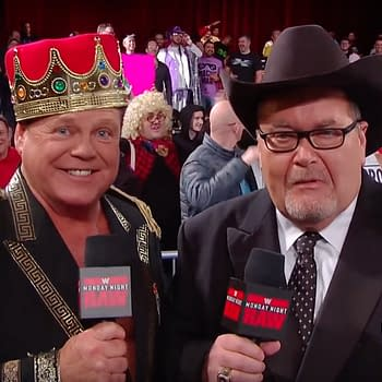 Jerry Lawler and Jim Ross (Image: WWE)