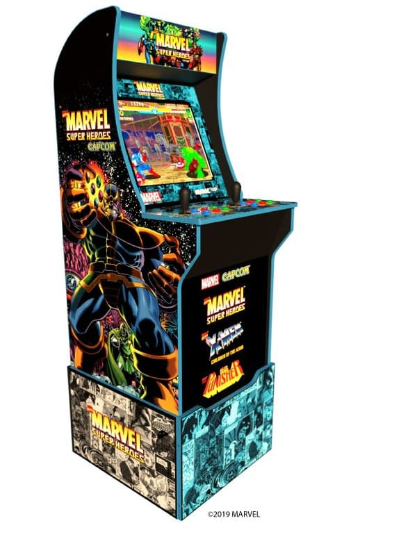 Arcade1Up Announces New TMNT and Marvel Super Hero Arcade Cabinets