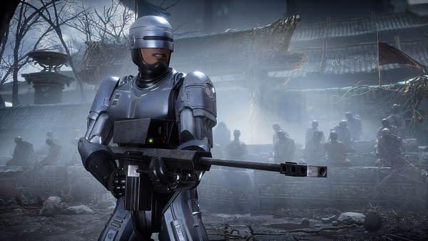 RoboCop will serve justice in Mortal Kombat 11: Aftermath, courtesy of NetherRealm Studios.