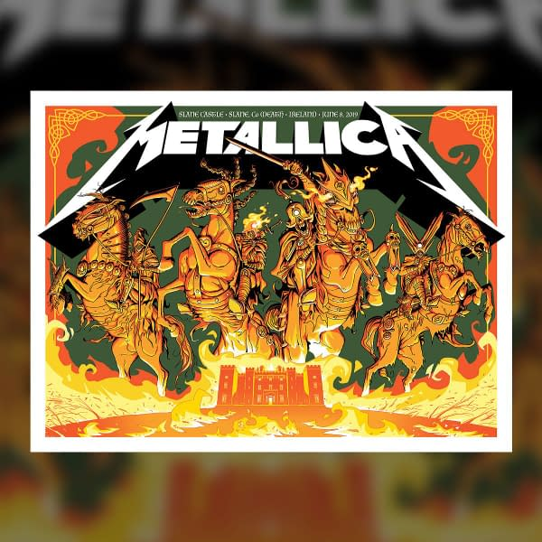 Metallica Slane Castle
