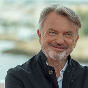 October 11, 2019: 52st Sitges Film Festival - Photo call of Sam Neill. Editorial credit: Luis Javier Villalba / Shutterstock.com