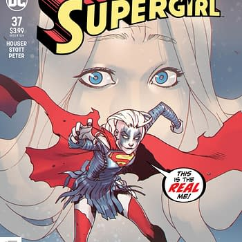 Infected by a Crossover in Supergirl #37 [Preview]