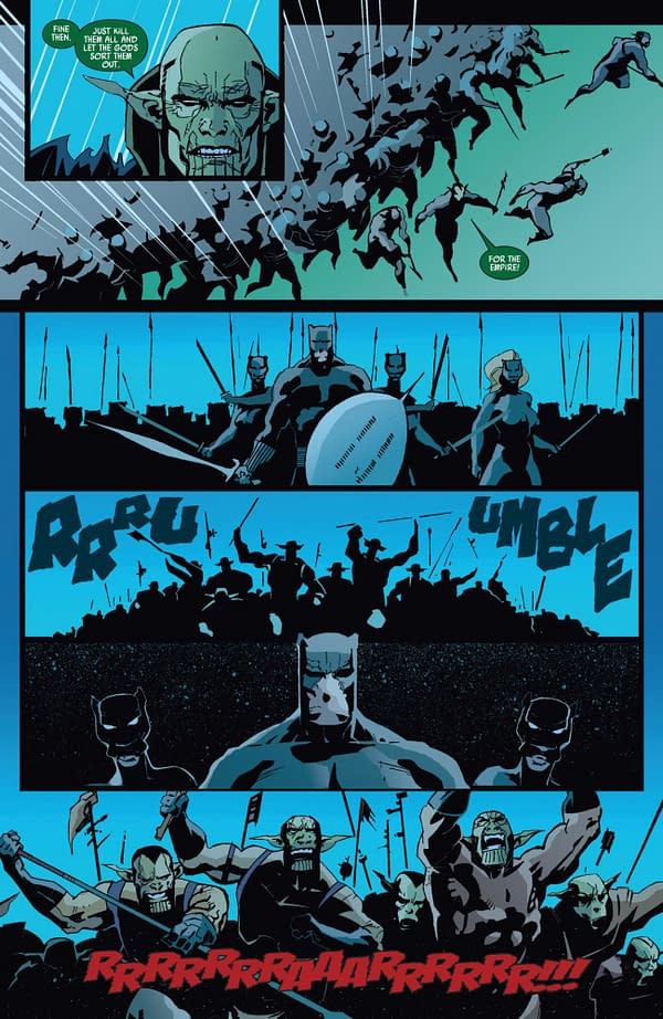Black Panther #39 art by Jefte Palo and Lee Loughridge