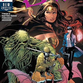 Justice League Dark #1 cover by Alvarez Martinez Bueno, Raul Fernandez, and Brad Anderson