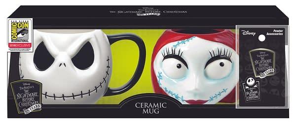 Monogram SDCC Exclusive Nightmare Before Christmas Mug Set