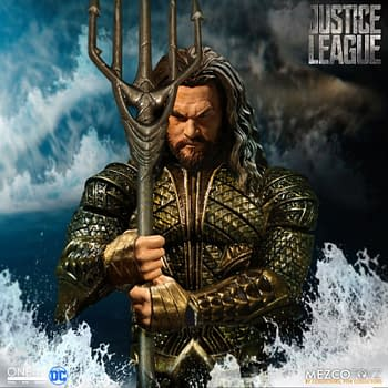 Aquaman Justice League One:12 Collective Figure Emerges From The Depths