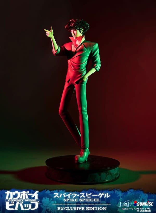First 4 Figures Introduces Spike Spiegel Figure from New Cowboy Bebop Line
