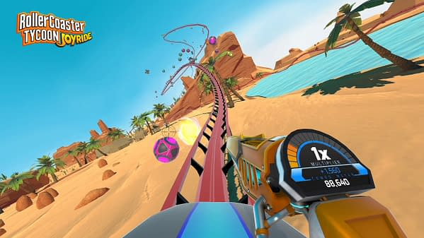 RollerCoaster Tycoon Joyride is all the Best Parts of RollerCoaster Tycoon