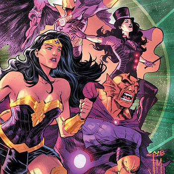 Justice League: No Justice #3 cover by Francis Manapul