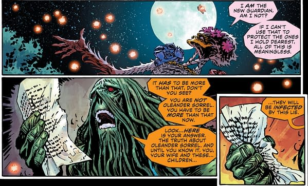 A New Plant Element Gets Their Own Anatomy Lesson in Justice League Dark Annual #1 (Spoilers)