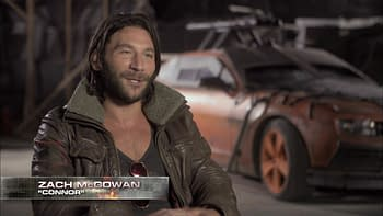 'Death Race: Beyond Anarchy' Exclusive Clip and Zach McGowan Interview