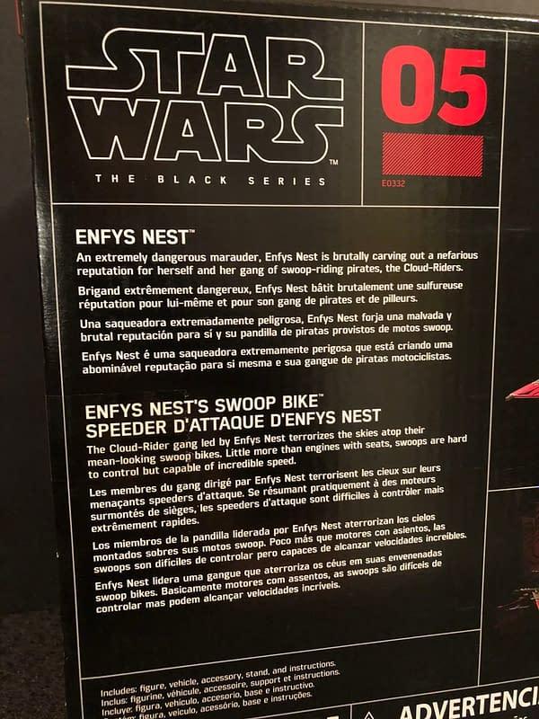 Star Wars Black Series Enfys Nest and Bike 4