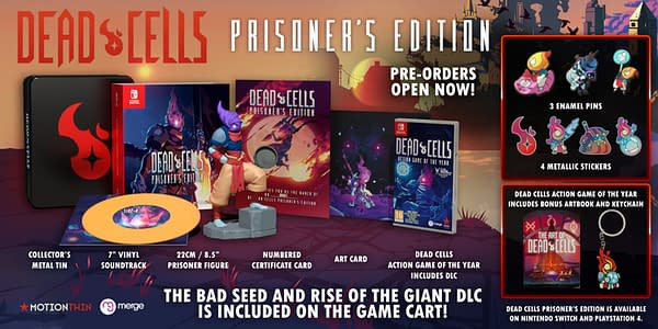 A look at everything in the Prisoner's Edition, courtesy of Signature Edition Games.
