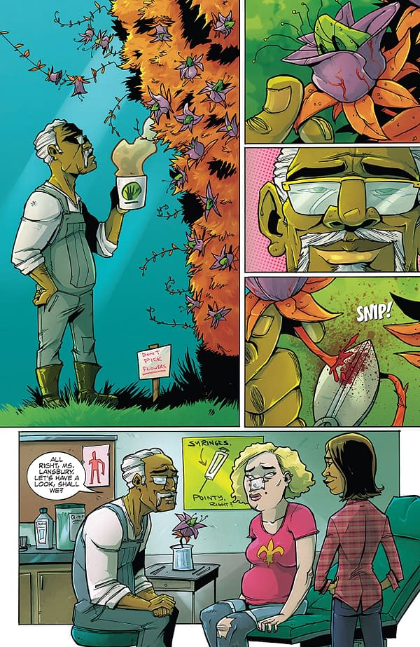 Farmhand #2 art by Rob Guillory and Taylor Wells
