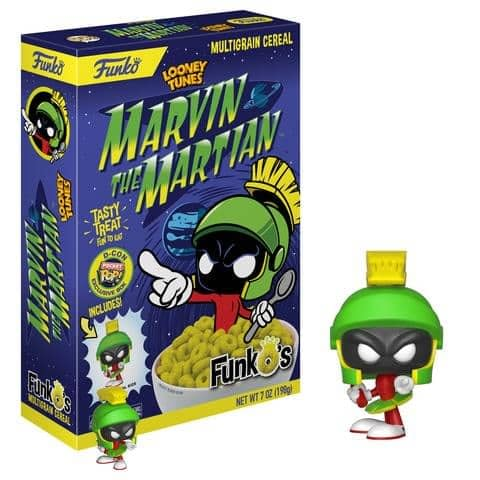 Funko Cereal Marvin the Martian DesignerCon