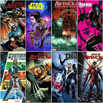 Solicits For Ruins Of Ravencroft, Iron Man 2020, Guardians, Star Wars and Launches  From Marvel Comics in January
