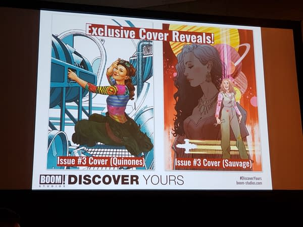 New Covers for Boom Studios' Firefly Comic Revealed at New York Comic Con