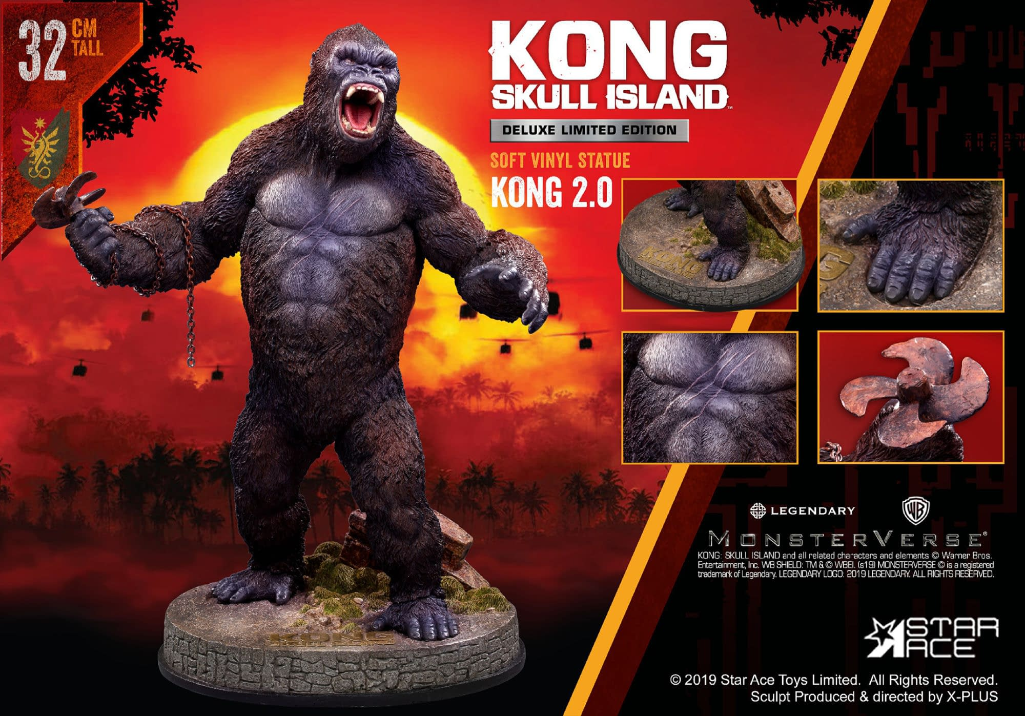 King Kong Stands his Ground with New Star Ace Toys Statue